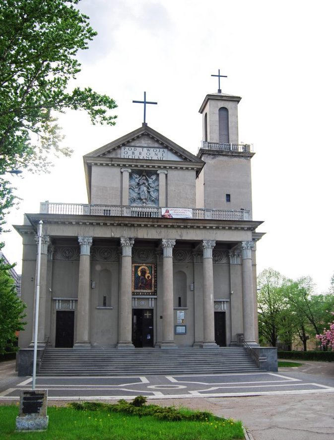 Kościół pw. Matki Boskiej Zwycięskiej - wotum za Bitwę Warszawską