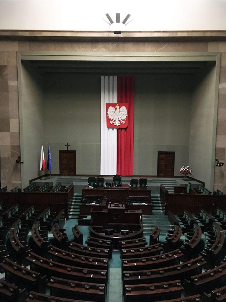 Wycieczka do Warszawy - Sejm